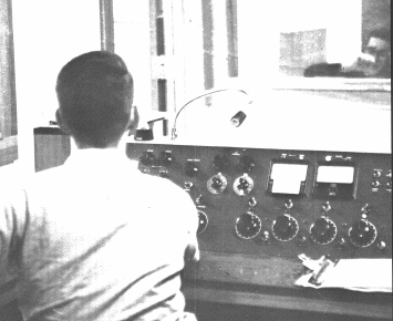 The WLHA Studios in 1965